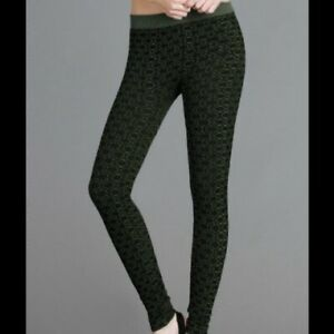 NEW Olive Green Designer Ultra Soft and Stretchy Leggings by Nikibiki