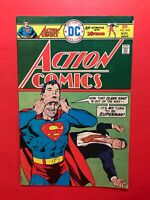 ACTION COMICS #453 SUPERMAN Plus The ATOM! DC 1975 Very Good+ Sharp!