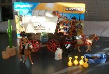 PLAYMOBIL 5248 WESTERN OESTE , caravana  de los bandidos