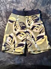 3T Boy Swim Trunk Old Navy Leaf Pattern