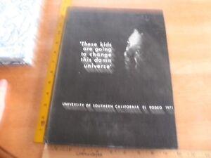 1971 USC El Rodeo Yearbook football Troy Trojans Paul Wesphal best Basketball tm