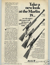 1966 PAPER AD Marlin 39 39A 39 Mountie 39 Carbine 4 X Scope New Haven Conn