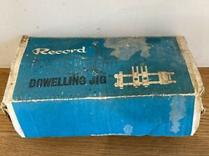 Record Dowelling Jig 148 Boxed