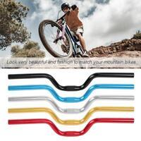 MTB Bike Cycling Fixed Gear Riser Handlebar Bicycle Bar 25.4mm 52cm Aluminum