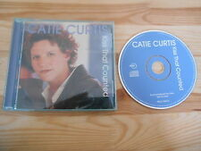 CD Pop Catie Curtis - Kiss That Counted (1 Song) Promo / RYKODISC