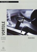 0328MB Mercedes CLK Sicherheit Vorteile 2002 2/02 Produktinformation Prospekt