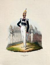 Preußen Militär Grenadiermütze 1. Garde-Regiment zu Fuß Uniform Epaulette Säbel