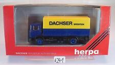 Herpa 1/87 866002 MAN LKW Pritsche/Plane Dachser Express OVP #6241