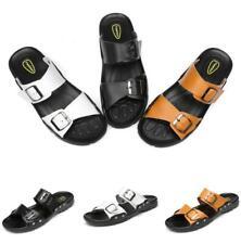 Mens Sand Walking Sports Flats Cut Out Summer Beach Slingbacks Slippers Shoes D