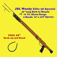 JBL Elite Woody 38-Special Speargun Wood Spear Gun Spearfish Fish Catch 6W38E