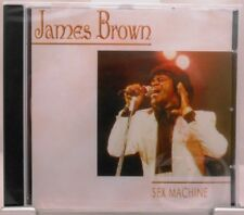 James Brown + CD + Sex Machine + Tolles Album mit 15 starken Songs + Soul +