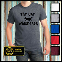 Funny Cat Tshirt, The Cat Whisperer Shirt, Kittens, Dogs, Animal Planet, Meow
