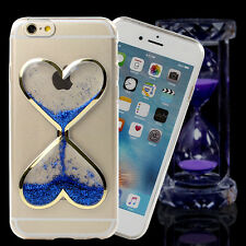 Dynamic Hourglass Liquid Glitter Quicksand Clear Soft Silicone Phone Case Cover