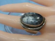 5988-925er Silberring mit Onyx Ringgroße 51 Kopf 2,6x1,7 cm Gewicht 9,8 Gramm
