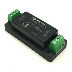 CUI Inc. PQA50-D24-S12-T DC to DC Converter Input: 18-36VDC Output: 12VDC 4167mA