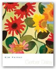 FLORAL ART PRINT Gerber Daisy I Kim Parker