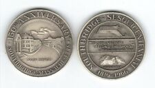 SOUTHBRIDGE,MA. TOWN MEDAL STERLING SILVER 1816-1966