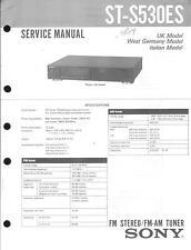 Sony Original Service Manual für ST-S 530 ES