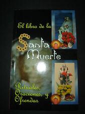 BOOK LIBRO S rituales y ofrendas SANTA MUERTE ritual para la fortuna