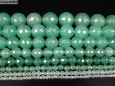 Natural Aventurine Gemstone Faceted Round Beads 15.5'' 2mm 4mm 6mm 8mm 10mm 12mm