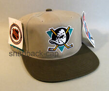 AMERICAN NEEDLE VINTAGE SNAPBACK CAP NOS MIGHTY DUCKS