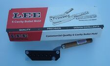 LEE Mold 6 Cavity Mold 358-105-SWC 38 Special 357 Magnum New in Box 90315