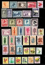 Belgian Congo stamps, nice group of 39, mostly classics with cancels