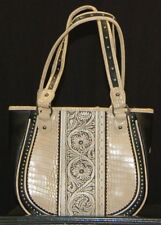 Montana West Trinity Ranch Hobo Purse Handbag  New w/tags Beige/Black