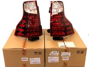 LEXUS OEM FACTORY SMOKED SPORT PACKAGE REAR TAIL LAMP SET 2017-2021 GX460
