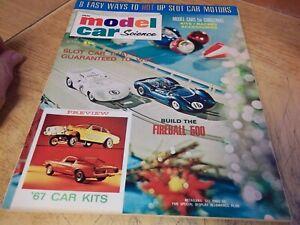 Model Car Science magazine, 12/66
