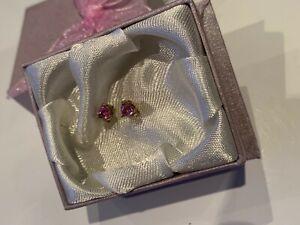 9 Carat Gold Tourmaline Stud Earrings
