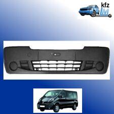 01-06 Set Stoßstange vorne dunkelgrau+Träger für Renault Trafic Nissan  Bj