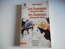 LES HOMMES VIENNENT DE MARS.LES FEMMES VIENNENT DE VENUS - JOHN GRAY