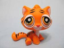 Littlest Pet Shop 905 BENGAL TIGER ORANGE BLACK STRIPES KITTY CAT 100% Authentic