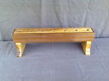 Benedictine Sisters of Mt Angel Monastery 7 Candle Holder Bench (2 of 2)