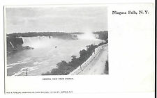 Niagara Falls, NY Early Card PPC Unposted, Undivided Back by Wild & Pchellas
