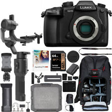 Panasonic LUMIX GH5 Mirrorless 4K Camera + DJI Ronin-SC Gimbal Filmmaker's Kit