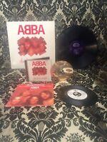 ABBA , LOVE Set, Lp & CD - The Love Songs, Promo Single, mega rare , selten