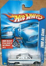2008 Hot Wheels All Stars #076 White '62 Chevy Diecast 4+ Malaysia