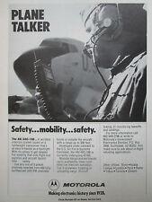 3/1980 PUB MOTOROLA COMMUNICATIONS AN/ARC-188 WIRELESS INTERCOM US AIR FORCE AD