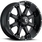 "20"" black Raceline Assault 991 rims Chevrolet Silverado 2500 HD 3500 8x6.5 +0"