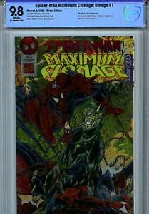 Spider-Man Maximum Clonage: Omega #1 (1995) Marvel CBCS 9.8 White
