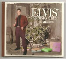 "ELVIS PRESLEY CD ""ELVIS' CHRISTMAS ALBUM 3D MONO"" 2015 SILENT NIGHT BLUE WHITE"