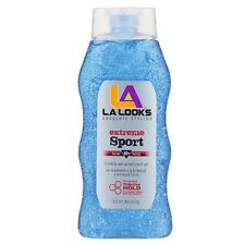 L.A. LOOKS Extreme Sport Power Gel Mega X-Treme Hold 20 oz (Pack of 2)