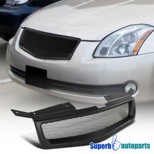 2004-2006 Fit Nissan Maxima JDM Black ABS Mesh Style Front Hood Grille Grill
