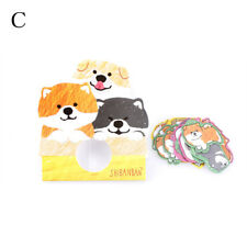 30x/Pack Cartoon Dog Animal Label Sticker DIY Diary Stationery Sticker Decor Sf