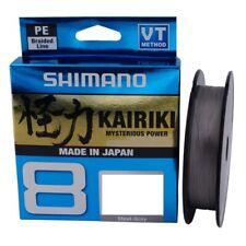 Shimano Kairiki VT Steel Gray 150m Fishing Line (Various Diameter)