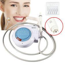 Dental Ultrasonic Piezo Scaler f/ EMS Woodpecker Teeth Cleaning Handpiece Tips
