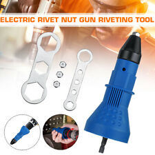 Electric Rivet Gun Adaptor for Cordless Drill Nut Riveter Riveting Drill Adapter