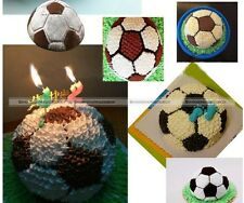 "8"" Aluminium Birthday Football Soccer Mold Mould Baking Pan Cake Decorating S2"